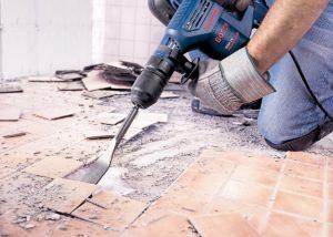 Работы по снятию старого асфальта, бетона и других поверхностей